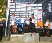 Český pohár žáků ve vodním slalomu. MČR žáků ve sjezd