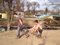 2014: Výsev trávníku
